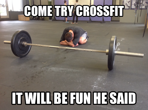 try crossfit