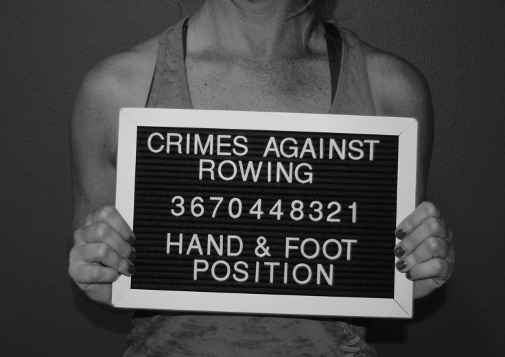 crimes against rowing