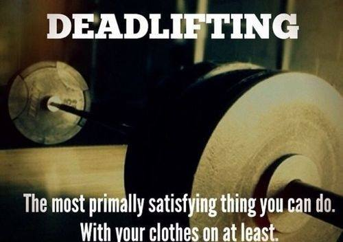 Deadlifting