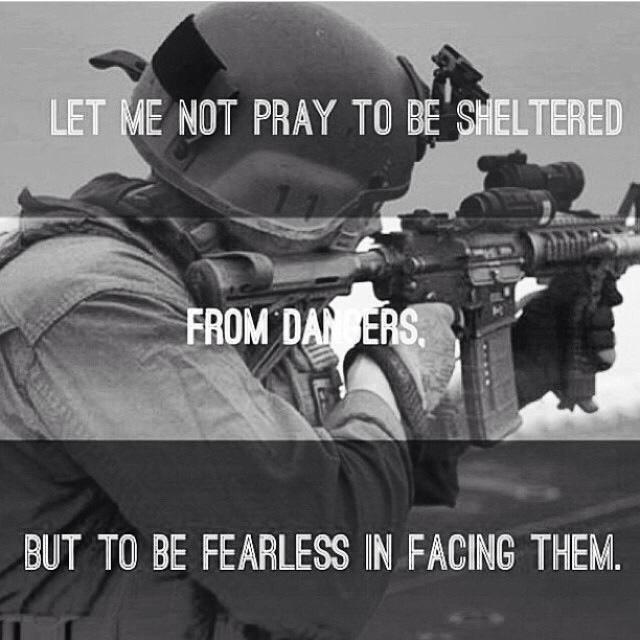 pray fearless