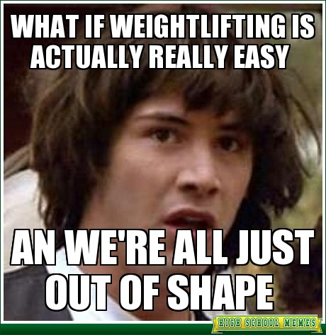 weightlifting easy