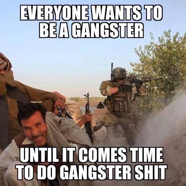 Gangsta shit