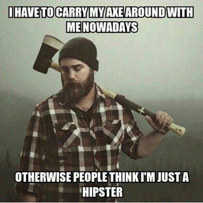 Hipster axe