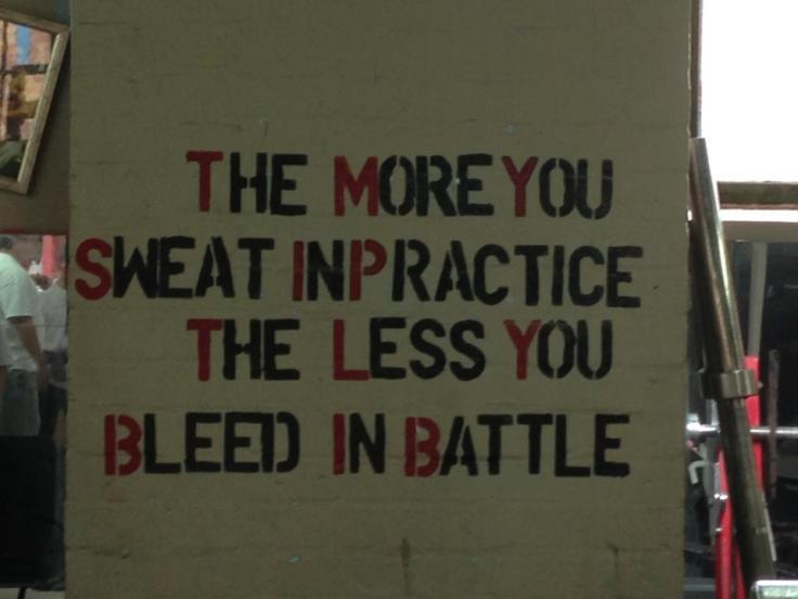 sweat bleed