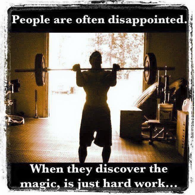 magic is hard work