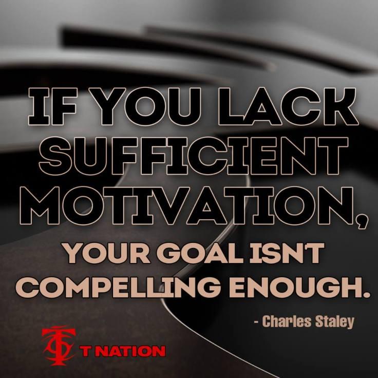 sufficient motivation