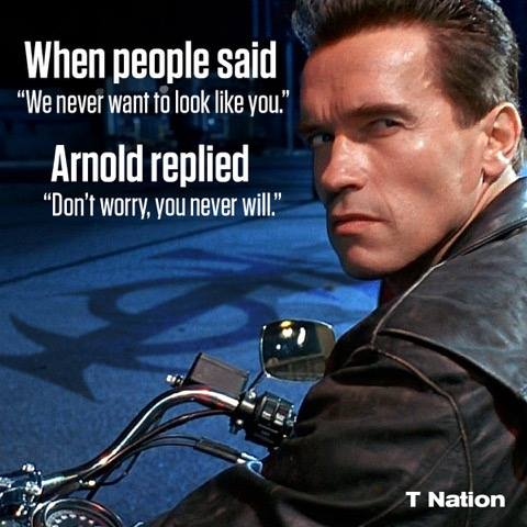 arnold dont worry