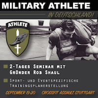Advanced Programming Course for Military Athletes, Sept. 19-20