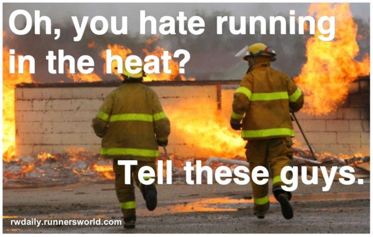 running heat
