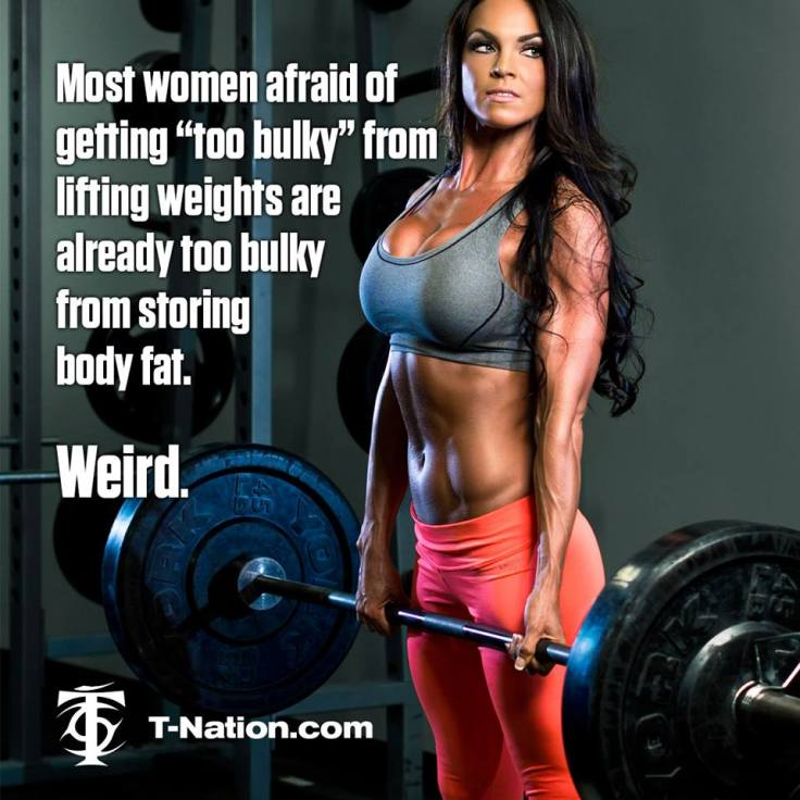 too bulky fat
