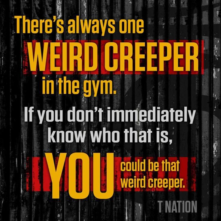 weird creeper