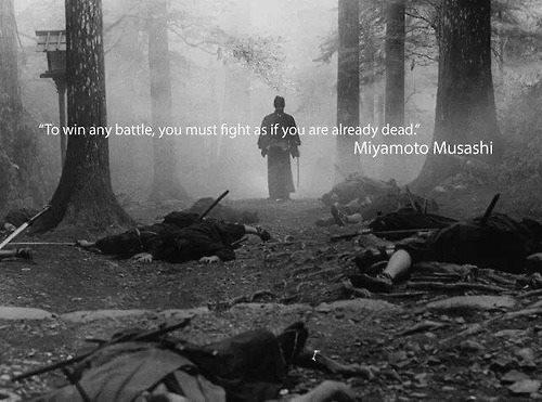 fight as if dead