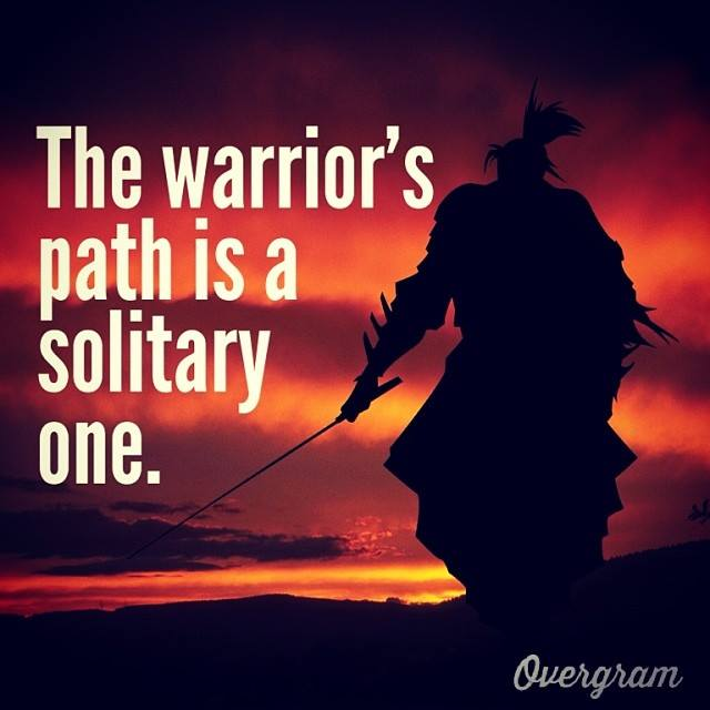 solitary path