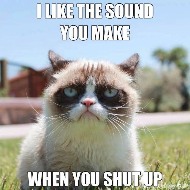 sound shut up