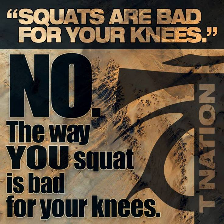the way you squat