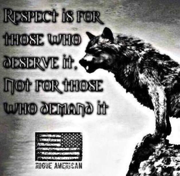 respect deserve
