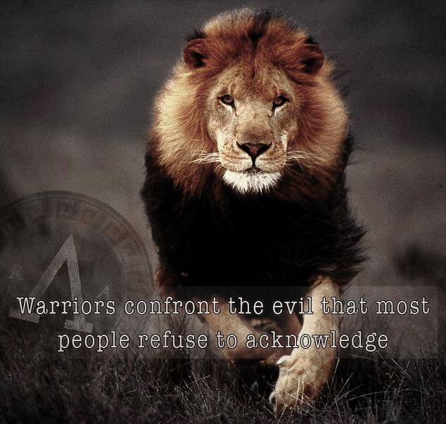 warriors confront evil