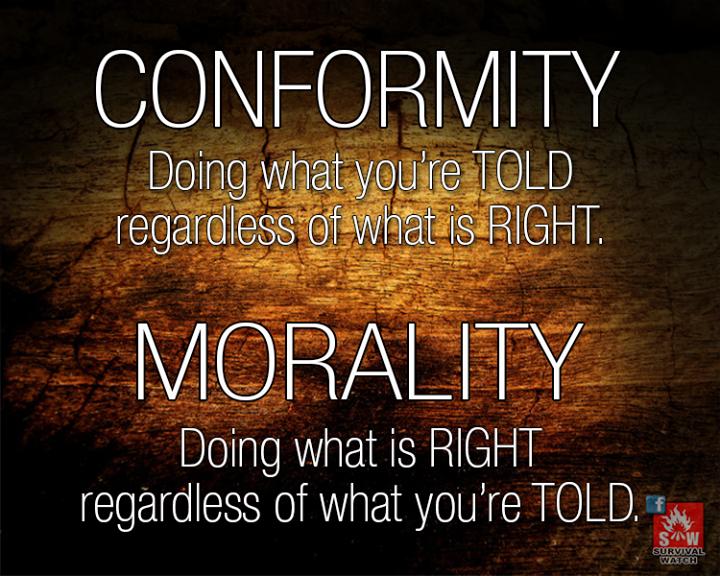 conformity morality