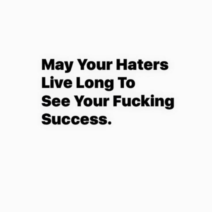 haters live long