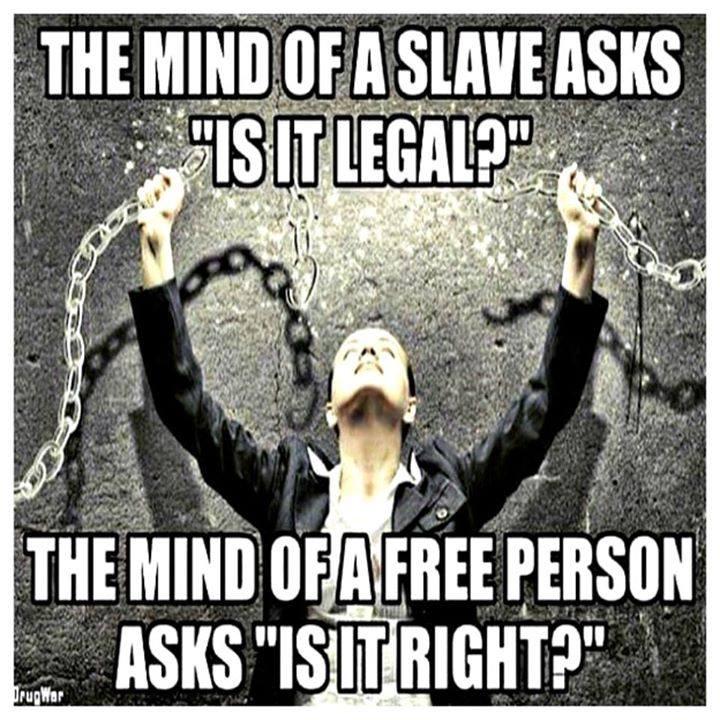 mind of a slave