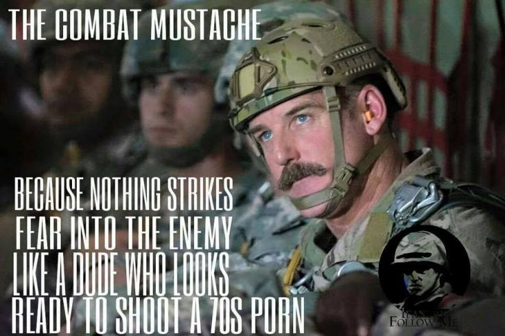 combat moustache