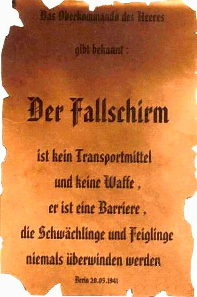 der Fallschirm