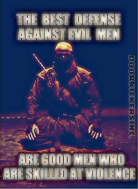 ninja good man
