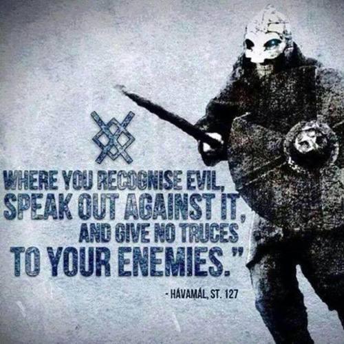speak against evil