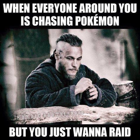 just wanna raid